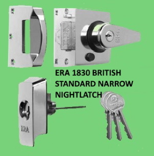 ERA BS 1830 High Security Insurance approved Rim lock